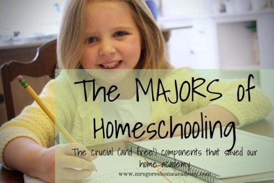 majors of homeschooling